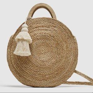 Zara beach bag